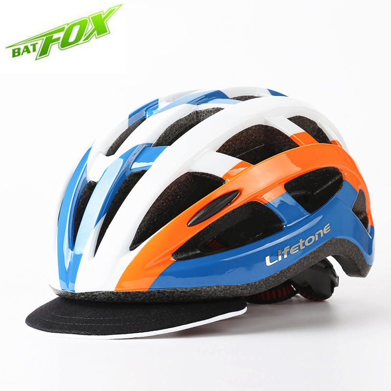 BATFOX Road Bicycle Helmet Casco Bicicleta Mountain Cycling Helmet With Light Casque Velo Route MTB Casco Ciclismo(China (Mainland))