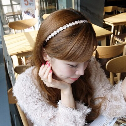 Good hair accessories hair clip headband pressure band Butterfly first hoop Korea flower headband hair band bangs hair clips(China (Mainland))