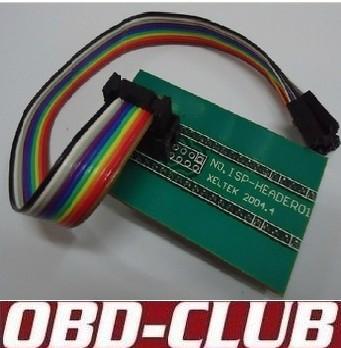 Reprogrammed superpro5000e 5000 download cable isp-header01 socket programmer ic test seat adapter(China (Mainland))