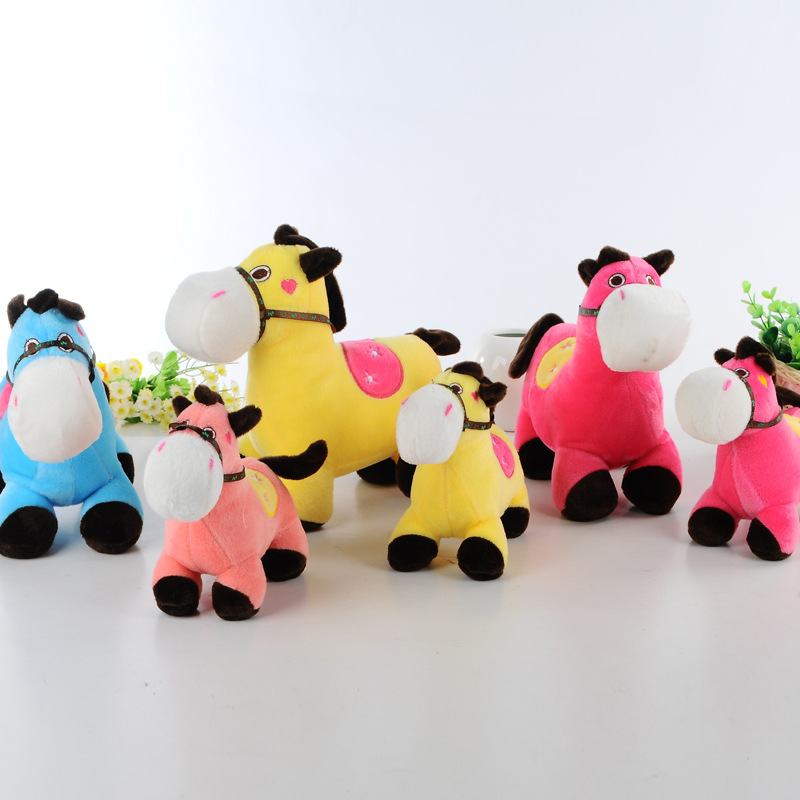 10pcs/lot 15cm Stuffed Animal Selling Plush Toy Little Ponies Plush Horse Popular Toys For Kids Prefect Quality For Child BL1107<br><br>Aliexpress