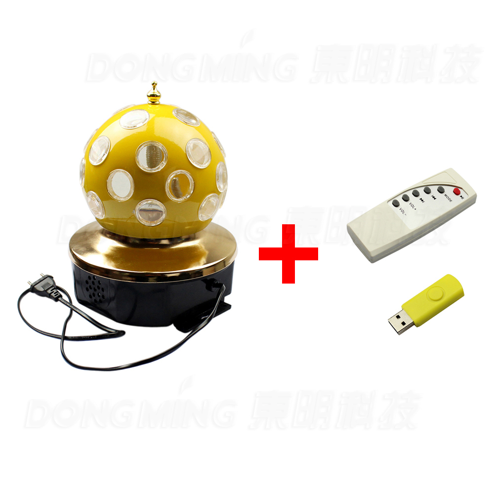 Music RGB Remote LED Stage Lights moving head disco ball lights Effect Light For Party, Disco,Bar with MP3 function(China (Mainland))