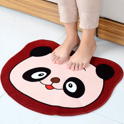 Tamehome Spot Children's non-slip rubber mat pet pad underside of environmental pollution cute cartoon frog carpet(China (Mainland))