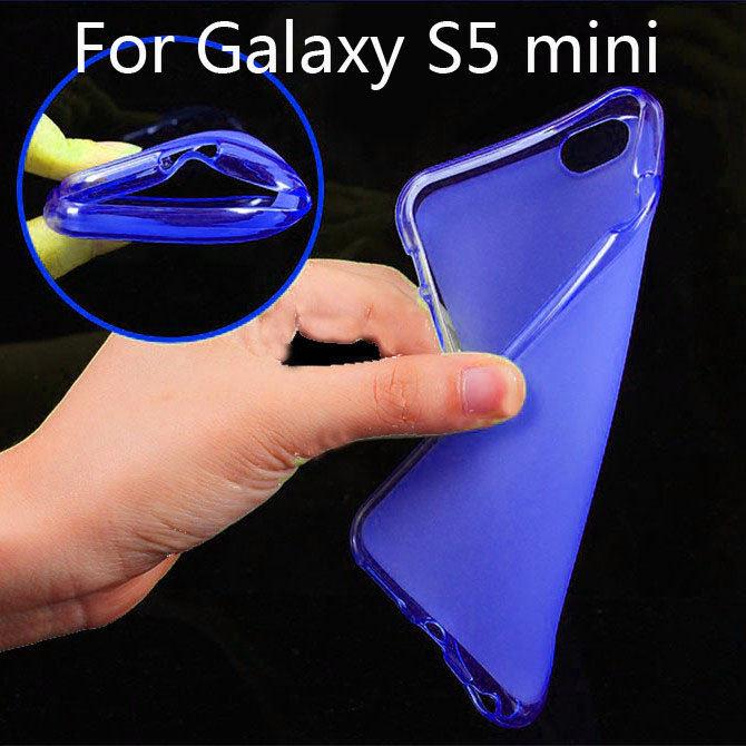 Matte TPU Cover Slim Soft Gel cell phone Case for Samsung Galaxy S5 mini G800 duos G800 M/Y/H/A/R4/DS/F STF(China (Mainland))