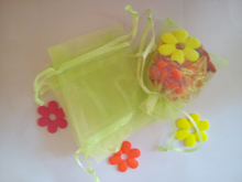 Buy 30*40cm 100pcs Organza Bag green Drawstring bag jewelry packaging bags tea/gift/food small transparent pouch Yarn bag for $28.01 in AliExpress store