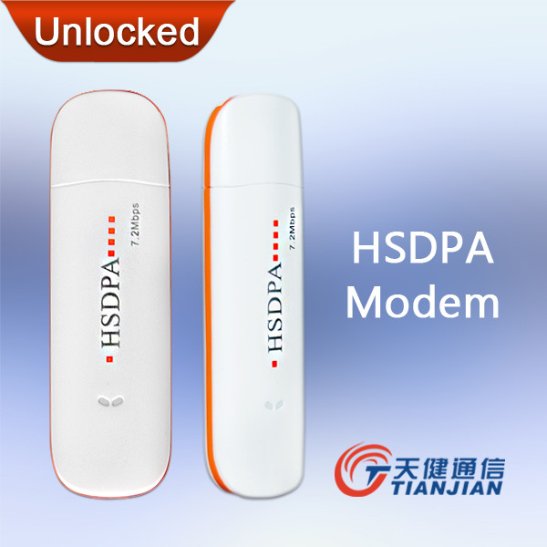 Free Shipping 7.2Mbps External Unlock Universal Mobile Broadband Dongle Network Card WCDMA HSDPA GSM 3.5G 3G USB Wireless Modem(China (Mainland))