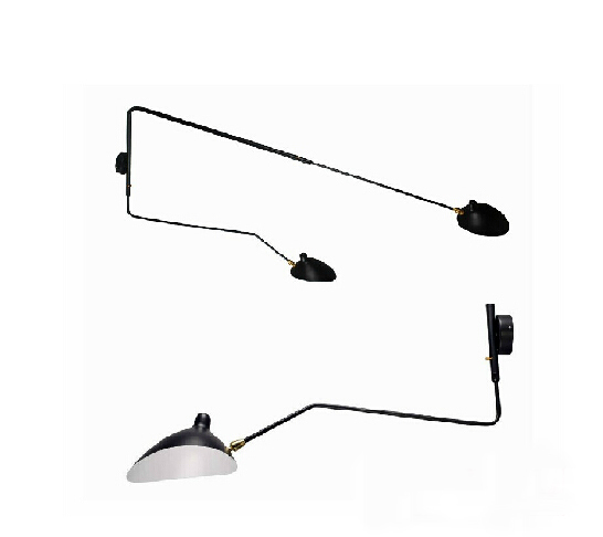 Modern Creative Iron Ceiling Lamp Serge Mouille Arm Pendent Lights Bar Office Ceiling /Floor/Wall/Table Lamp Serge Mouille(China (Mainland))