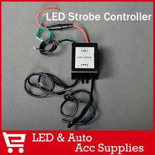 Led Flash Brake Light Controller Strobe Flasher Switch Module Box for Car Motorcycle Trailer Led Lights Bulb Strips Warning Lamp(China (Mainland))