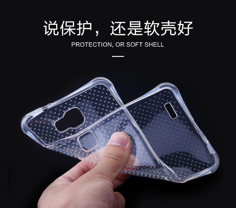 Security Airbag Anti-knock Phone Case For Xiaomi mi4 mi4c note mi4s mi5 Mobile Phone Accessories TPU Soft Back Cover Phone Case