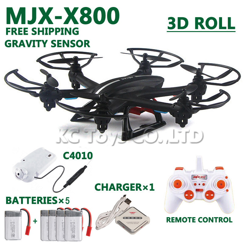 Free shipping MJX X800 RC helicopter drones quadco...