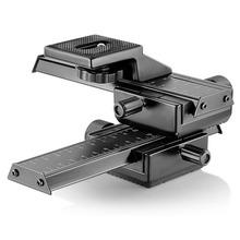 4 Way de Enfoque Macro Rail Deslizante/Close-up de Disparo para canon nikon etc cámara réflex y dc con el estándar de 1/4 «Orificio de tornillo
