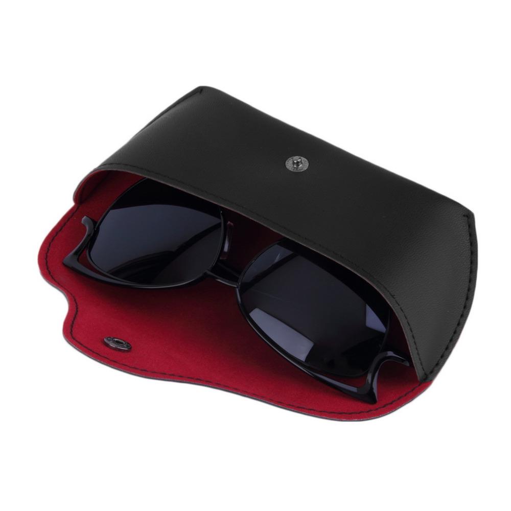 Durable PU Leather Glasses Case Sunglasses Eyeglasses Storage Holder Box Bag cases Drop Shipping Wholesale(China (Mainland))