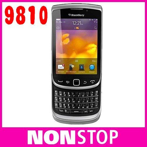 9810 Original BlackBerry Torch 9810 GPS WIFI 5MP JAVA QWERTY Keyboard Unlocked Mobile Phone Free Shipping(China (Mainland))