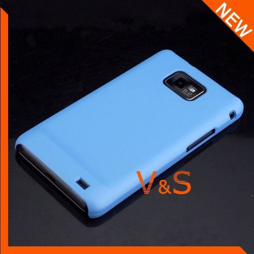 Hard Matte Case for Samsung i9100 Galaxy S2 without Retail Package 30pcs/lot Free Shipping