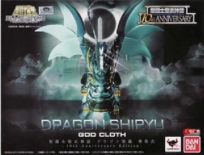 japan version Bandai Saint Seiya Myth Cloth Dragon Shiryu God Cloth 10th Anniversary Edition Action Figure model toys for child<br><br>Aliexpress