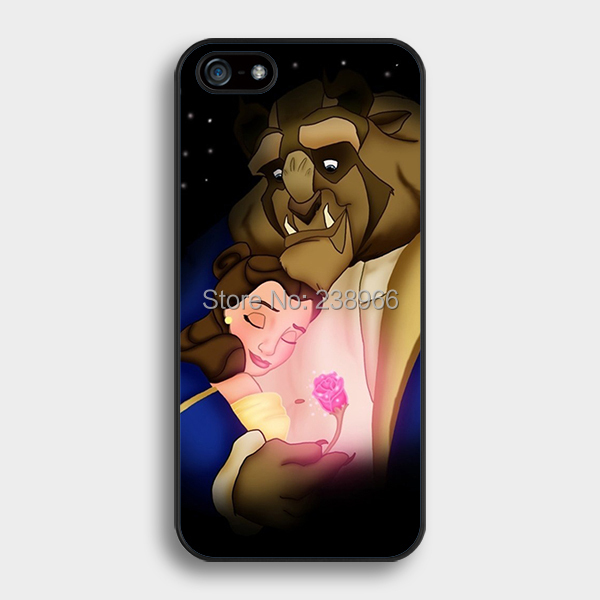 Free Shipping Disne Y Beauty And The Beast Rose Hard Back