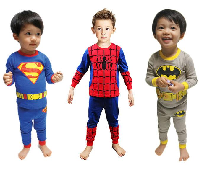 Online Buy Wholesale superman pyjamas children from China superman ...