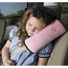 Children Safety Seat Belt Cushion Pillow Harness Pad Protect the shoulder(China (Mainland))