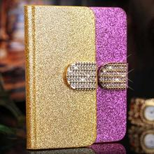 Huawei Ascend P2 phone case luxury Bling texture wallet leather cover magnetic flip card slot - CANDY FLAGSHIP STORE store