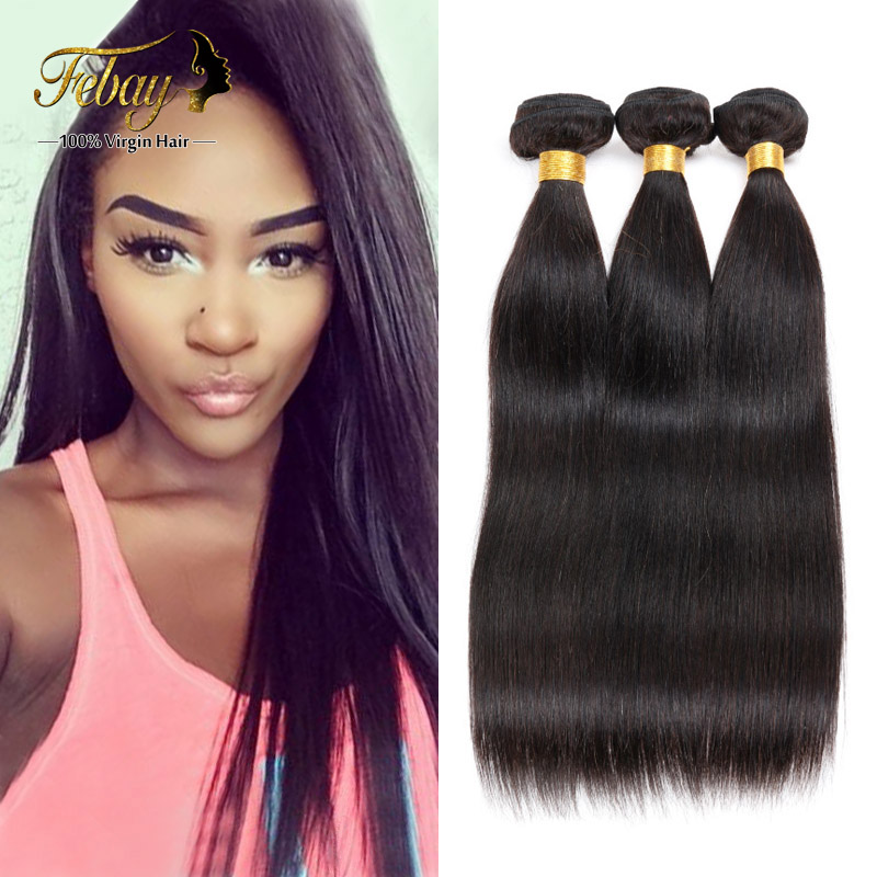 8-30 Cheap Top Rated Malaysia Virgin Hair Straight 3Pcs/Lot 6A Unprocessed Virgin Hair 100% Malaysia Human Hair Weave Bundles<br><br>Aliexpress
