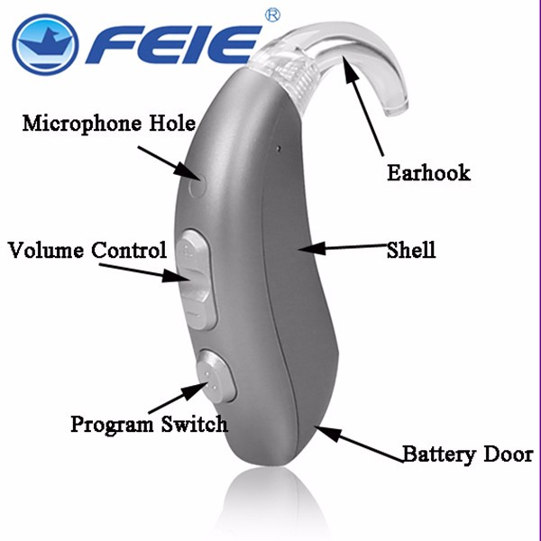 feie bte mini hearing aids aparelhos auditivos amplifier ears digital hearing aid price  MY-16