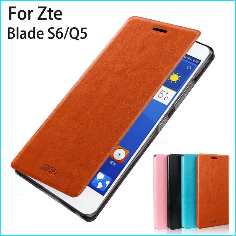 New Arrival For Zte Blade S6/Q5 (5.0'') Case Hight Quality Cell Phone Housing For Zte Blade S6/Q5 (5.0'') Flip Leather Case(China (Mainland))