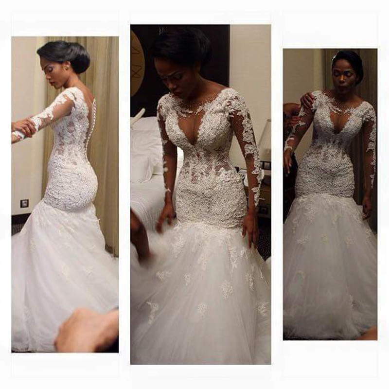 Compare prices on sexy nigerian wedding lace dress online for Order wedding dress online