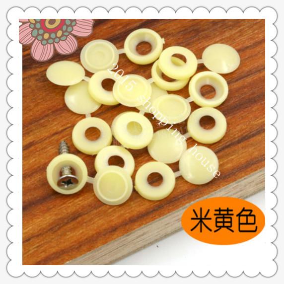 Furniture accessories plastic plug cap screw furniture decorative cap cover decorative buttons 02(China (Mainland))