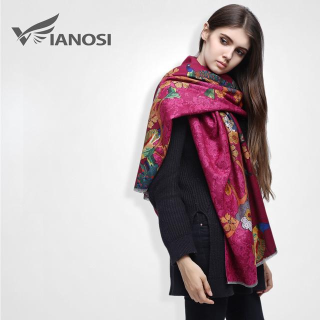 [ VIAONS ] 2015 мода цифровая печатьбольшой размер кашемир шарф бренд красивый ...