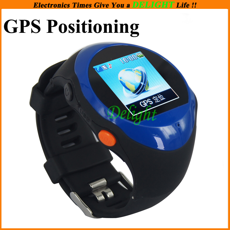 Funtional bluetooth gps locator watch outdoor sport wristwatch with sos function best for for Watches with gps