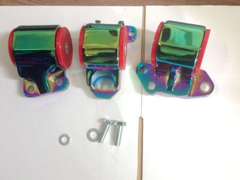 NEO Chrome sport Engine Swap Mount Kit 2 bolt Left Mount B Series DC2 EG