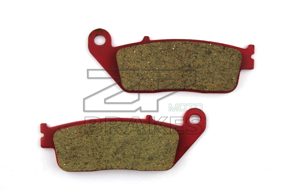 Motorcycle Parts Brake Pads Fit HONDA FJS 600 1/2/A3-7/D3-6Silverwing Scooter 2001-2008 Rear Red Carbon Ceramic Free shipping(China (Mainland))