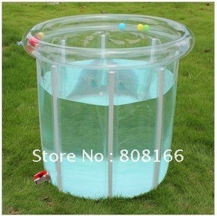 Bathtub baby swimming pool fashion bath barrel inflatable pool in baby
