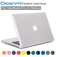 Crystal Transparent Clear Hard Case for Apple Macbook Pro 13 Retina cover 13.3 inch laptop bag for Macbook pro retina 13 case