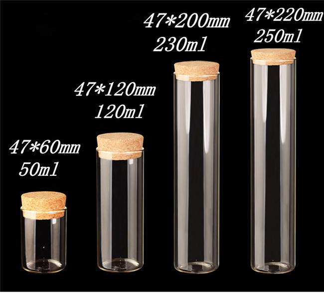 Glass Bottle Decorating Transparency Clear Bottles for Wedding Decoration & Gift Glass Crafts1