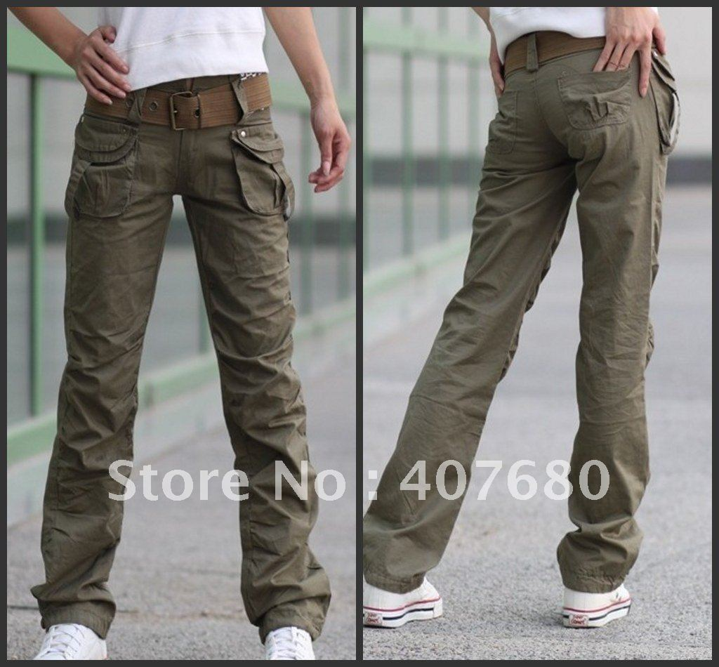 Cargo pants - Women Outerwear