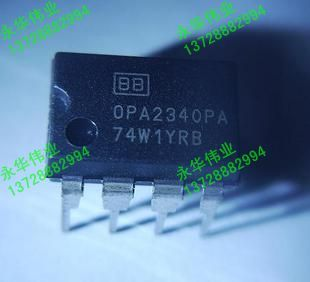 OPA2340PA DIP8 operational amplifier Solemnly promises: only business done--YHWY2(China (Mainland))