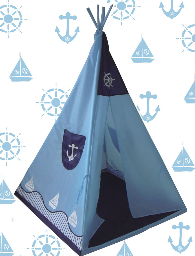 2015 kids teepee tents girl boy / play tents/baby mat/ birthday christmas gift -ocean playhouse - Party decoration/ Household items store