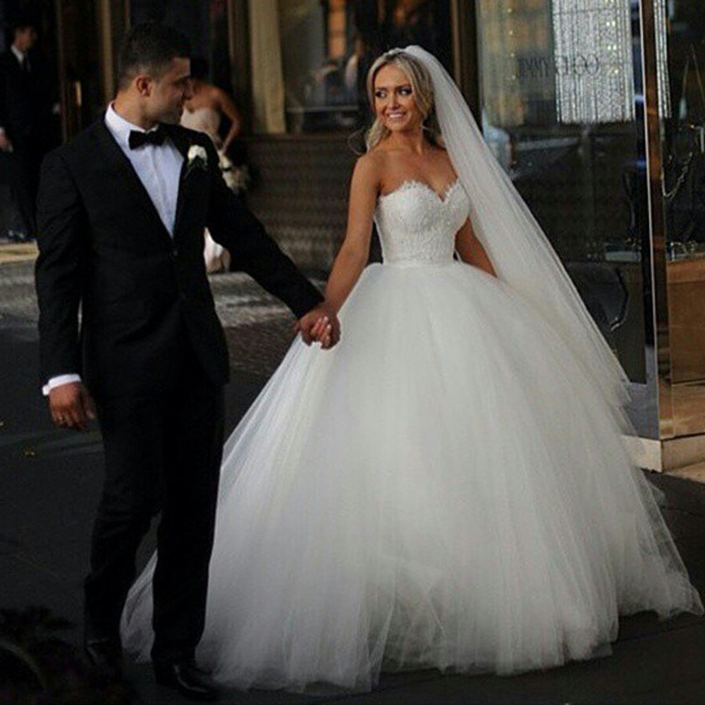 store product vestidos novia champagne lace wedding dress ball gown bridal dresses vine gowns