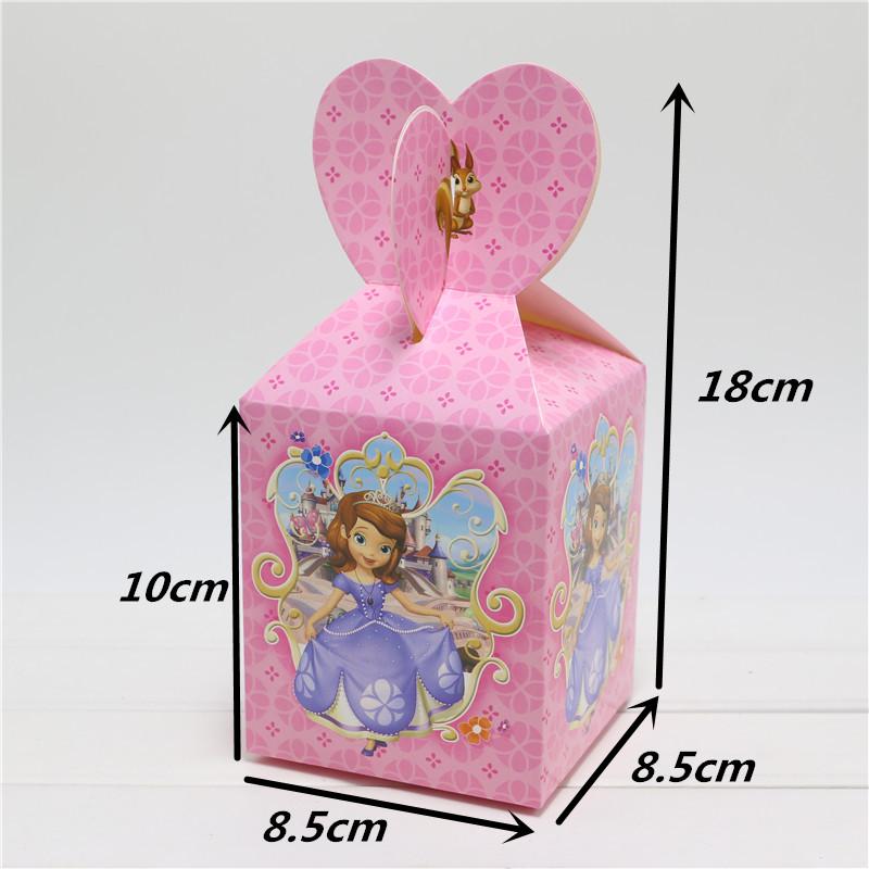 Avengers Gift Box cartoon hello kitty Candy Box Favor Box 12PCS/lot boy girls happy Birthday Party Decorations Kids cartoon(China (Mainland))