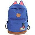 New 2016 Campus Women Girls Backpack Travel Bag Young Canvas Men Backpack Brand Fashion School Bags