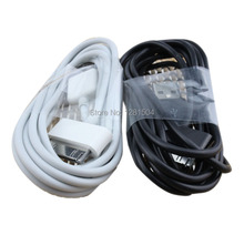 Wholesale Newest Factory Price Charming 2m 6ft Circle USB Fast Charging Cable For iphone 4 4s 300pcs/lot(China (Mainland))