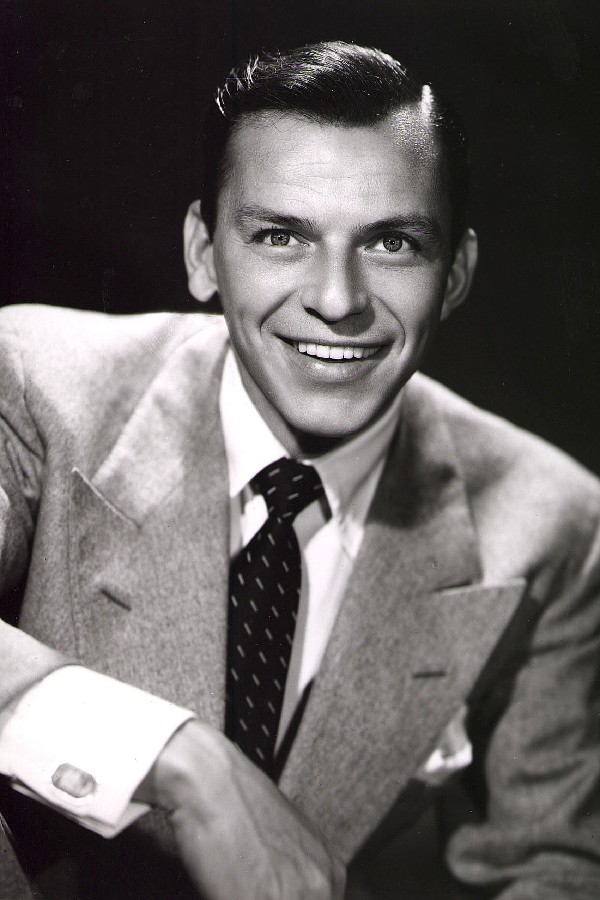 Cuadros Decoracion Canvas Painting Charming Smile Frank Sinatra Music And Great Pictures Printing On The Wall Fabric Print Gift(China (Mainland))