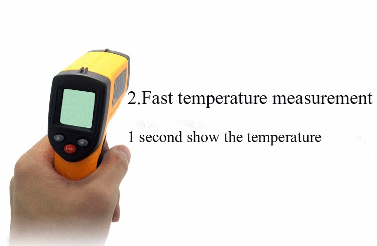 GM320Thermometer thermal imager digital thermometer handheld  Thermometer Temperature Tester -50 to 380 C Auto Temperature Meter