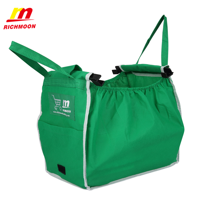 As Seen On TV Grab Bag Foldable Tote Eco-friendly Reusable Large Trolley Supermarket Large capacity Shopping Bags(China (Mainland))