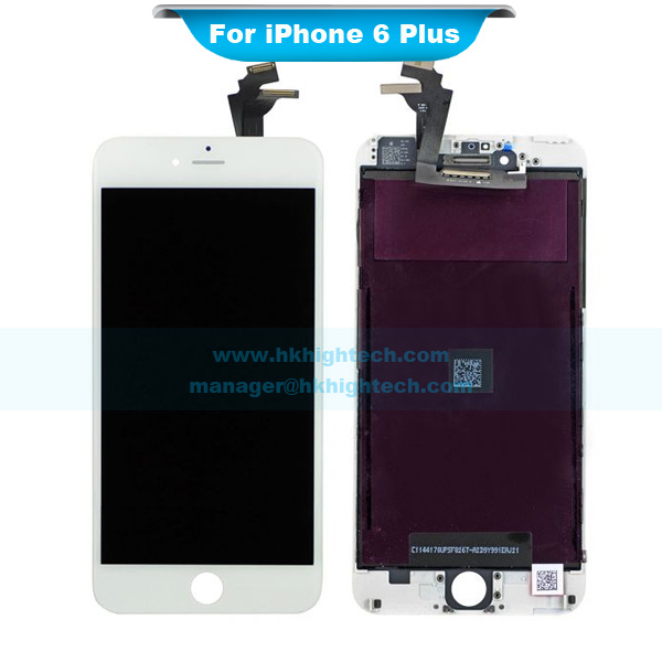 White lcd display digitizer touch screen with frame for Iphone 5 displays ship month ceo
