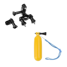 GoPro Accessories Chest Belt Head Strap Suction Cup Bobber Floating Handle Monopod Tripod Mount for gopro