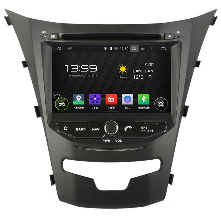 Pure Android 4.4 OS 8'' Car DVD Player/Head Unit for 2014 Ssangyong Korando,AutoRadio,GPS,Navi,Car Multimedia,Radio,Ipod,AUX(Hong Kong)