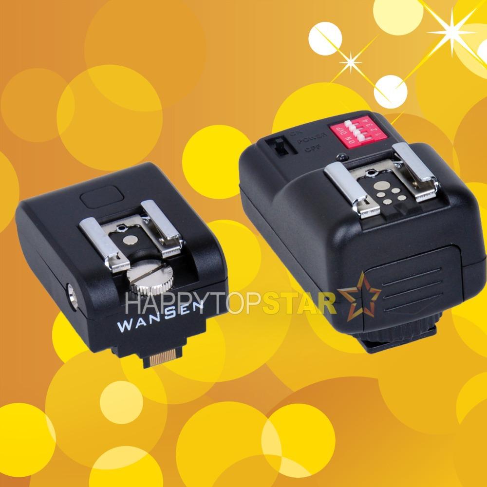 Дистанционный спуск затвора для фотокамеры Happytopstar Flashshoe + Sony nex/3 nex/5 nex/5n Canon Nikon Pentax Olympus YongNuo 16CH
