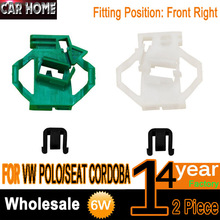Buy CLIPS FOR VW POLO / SEAT CORDOBA 6K ELECTRIC WINDOW REGULATOR REPAIR KIT FRONT RIGHT 6K4837402 for $7.50 in AliExpress store