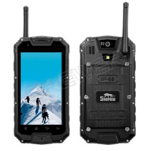 Original Snopow M8 IP68 Rugged Smartphone with PTT Walkie Talkie 4 5 Inch Android 4 2